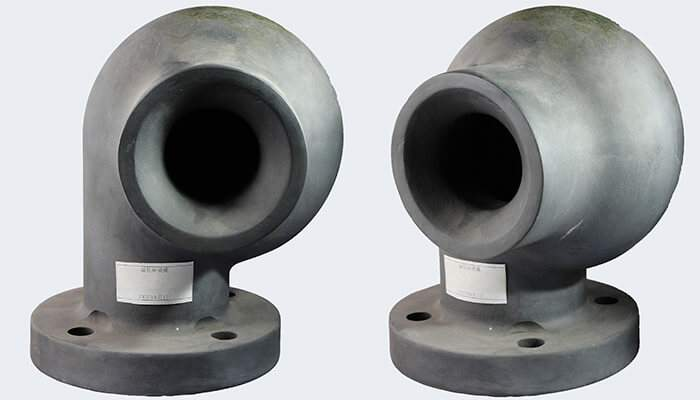 Large flow carbide silicone hollow cone nozzle