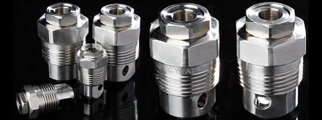 axial hollow cone nozzle