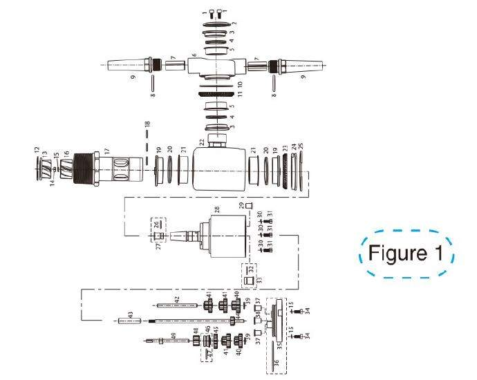 figure1 schematic diagram of 360a tank cleaning nozzle